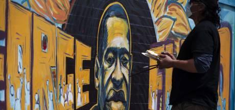 BN'ers protesteren op de Dam na dood George Floyd