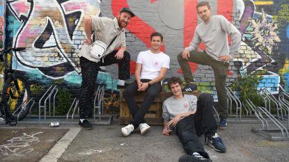Leuvense hiphopgroep zamelt 3000 euro in voor Jordaans vluchtelingenskatepark