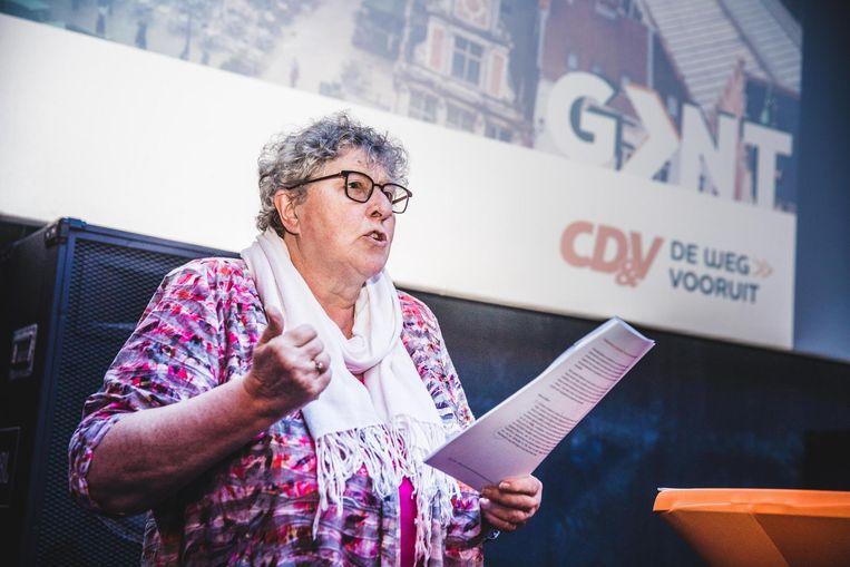Mieke Van Hecke, lijsttrekker voor CD&V.