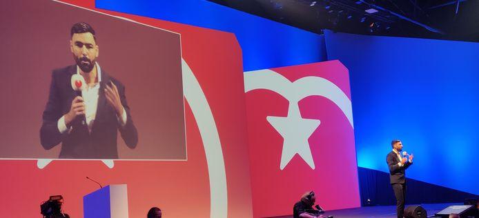 De afscheidsspeech van Ron Meyer op het SP-congres