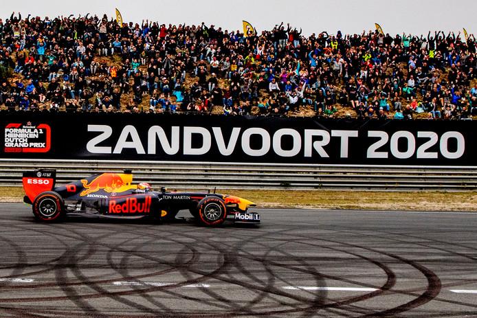 Het Circuit van Zandvoort is tijdens de vierde editie van de Jumbo Familie Racedagen nog getest door Max Verstappen.