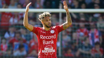 Flitsende Bongonda helpt Zulte Waregem aan 1-2-zege in derby op Kortrijk, finale play-off 2 wenkt