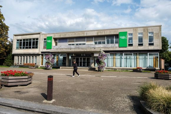 Het gemeentehuis van Schelle.