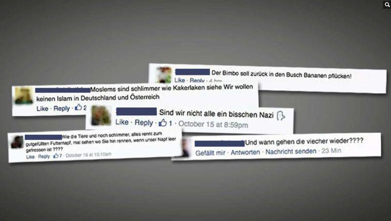 Bild publiceert haatdragende Facebookteksten in de krant en op de website Beeld Bild