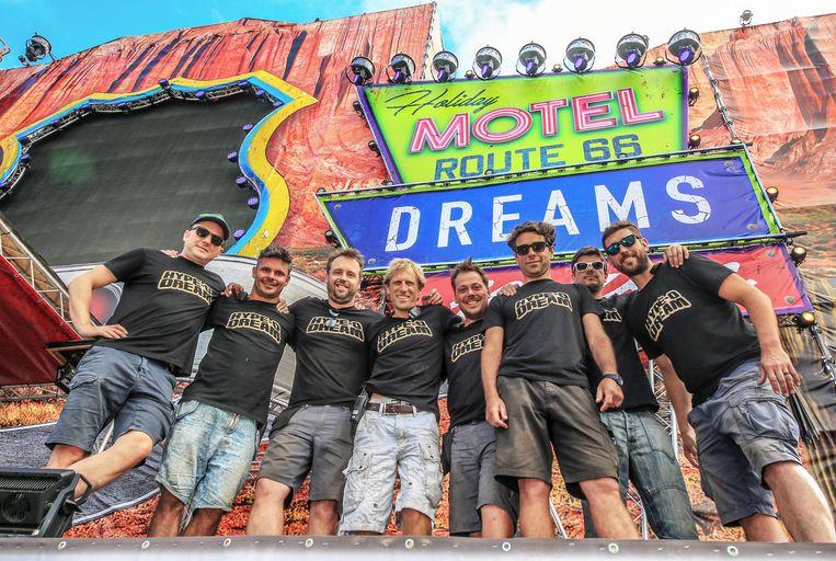 De organisatoren van Hype-O-Dream hebben alvast zin om er een topeditie van te maken. Frederik Balcaen - Pieter Merlier - Laurent De Ruyck - Stijn Meert - Stijn De Rock - Olivier Lefevere - Sam Vanryckeghem - Frederic Windels