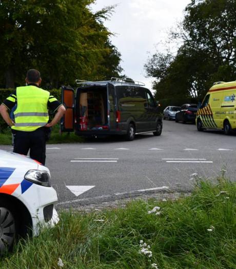 Fietser gewond na aanrijding met auto in Kapelle