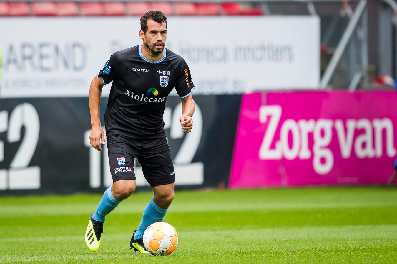 UTRECHT, FC Utrecht - PEC Zwolle, football, Eredivisie, season 2018-2019, 19-08-2018, Stadium de Galgenwaard, PEC Zwolle player Dirk Marcellis