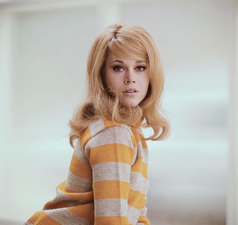 Jane Fonda in haar jonge jaren. Beeld Bettmann Archive