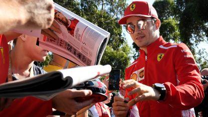 Vettel vindt grootste rivaal in eigen kamp: Ferrari gokt op jonge Leclerc