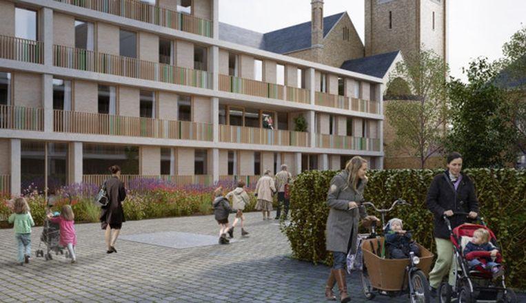 De Meersen veranderen in een nieuwe wijk in Ieper.