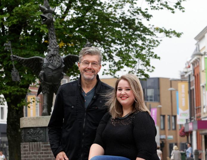 Carlijn de Bot en Marijn ten Harmsen van der Beek