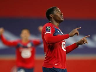 De kop is er eíndelijk af: Jonathan David scoort na 14 duels zijn eerste goal voor Lille