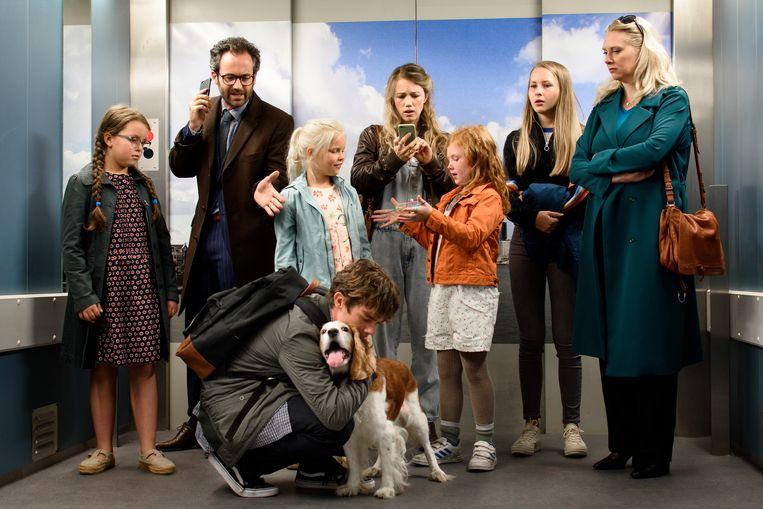 De cast van De Liefhebbers. Beeld Pief Weyman