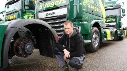 """22.000 euro aan banden en velgen gestolen bij transportbedrijf: """"Alles met de hand eraf gehaald"""""""
