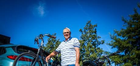 Fietsfanaat John verkent de omgeving het liefst op twee wielen:'Ik ben altijd bezig, kan niet stilzitten'