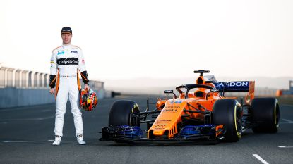 """Stoffel Vandoorne over nieuwe McLaren: """"Hij ziet er goed uit, nu nog hopen dat hij snel is"""""""
