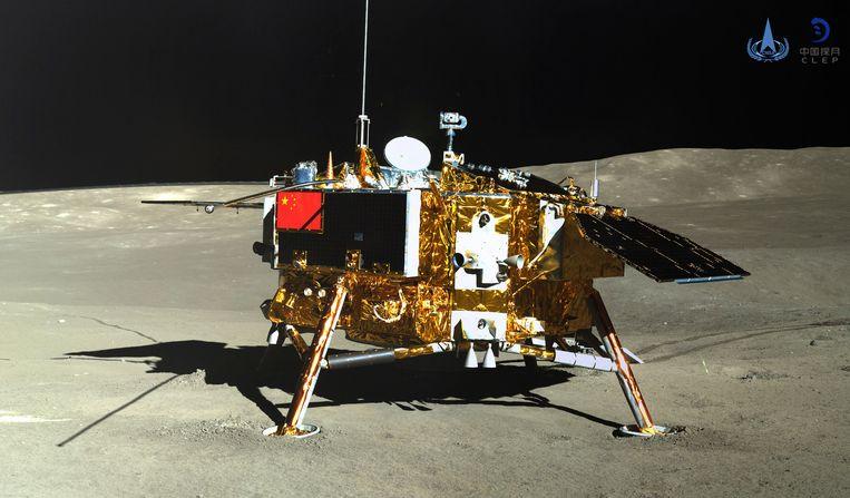 De Chinese lander Chang'e-4