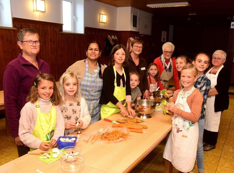 Kinderen gingen koken met Wendy