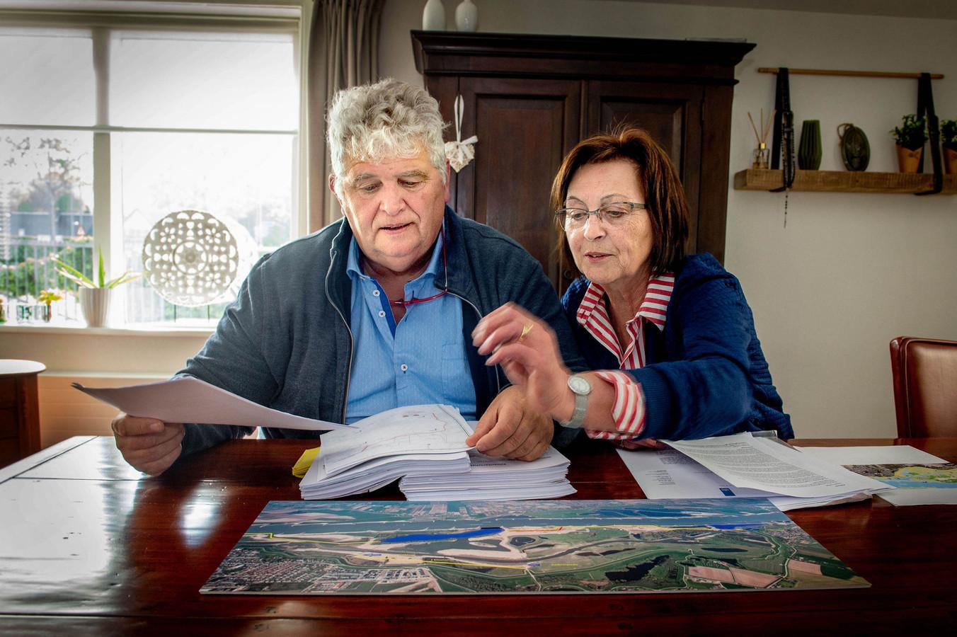 Ger van Hout en Ans van Heumen.