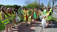 150 inwoners present voor grote lenteschoonmaak