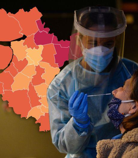 KAART | Landelijke toename positieve coronatests, maar Oost-Nederland laat wat anders zien