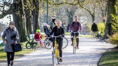 Té veel volk op Brugse Vesten: fietsers moeten deels ander traject volgen én er komen extra patrouilles
