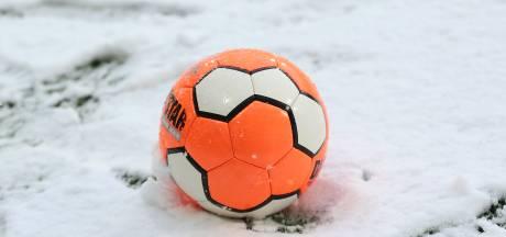 Winterweer: zaterdag geen voetbal voor pupillen tot en met Onder 11 jaar