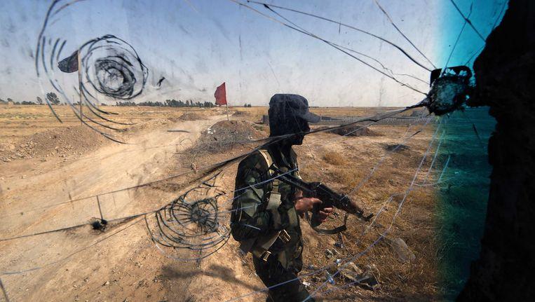 'De afgelopen twee jaar zijn 14 jihadstrijders uit Nederland omgekomen in de strijd in Syrië.' Beeld AFP