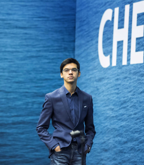 Anish Giri in Theothorne
