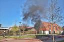 Stroomhuisje in brand in Dongen