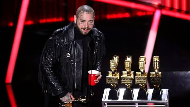 Post Malone grote winnaar tijdens Billboard Music Awards (+ de meest memorabele momenten)