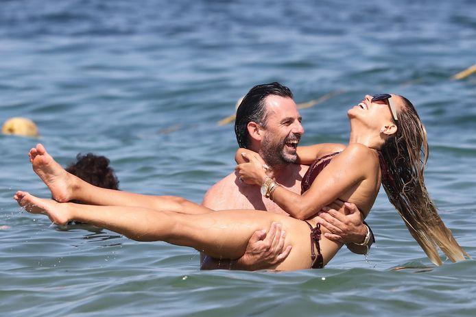 Sylvie Meis en Niclas Castello op vakantie