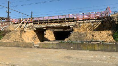 Nieuwe gang Vilvoords station klaar tegen september 2021