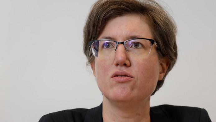 Catherine Moureaux, bourgmestre de Molenbeek (PS).