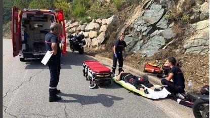 Inspecteur Koen uit 'De Buurtpolitie' crasht met motor op vakantie