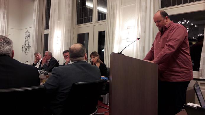 In de gemeenteraadsvergadering van februari riep Bert Klerks als inspreker de politiek op om 'slimmer' te gaan bouwen.