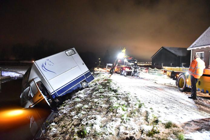 De schade aan het voertuig viel mee