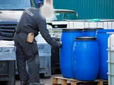 Meer drugslabs ontmanteld in Gelderland, maar aantal dumpingen is sterk afgenomen