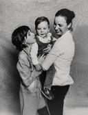 Judith Dapperen met Lois en Niels