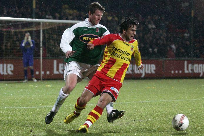 Halil Çolak in vervlogen tijden in actie voor GA Eagles.