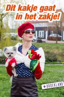 Ludieke actie in Broekland tegen overlast hondenpoep