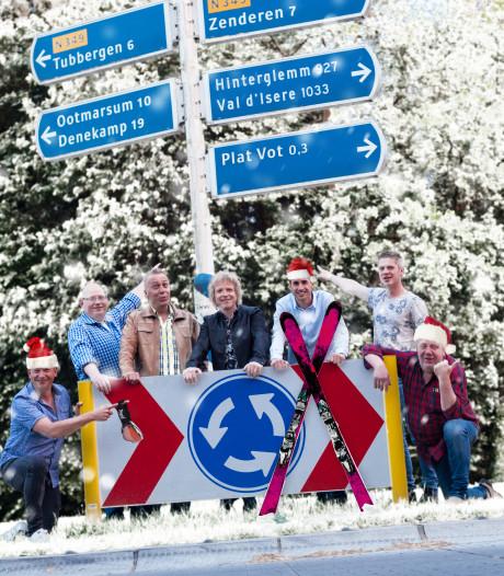 De heren van Platvot spelen 'thuiswedstrijd' in Albergen