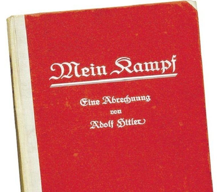 Citaten Uit Mein Kampf : Mein kampf zinvolle censuur trouw