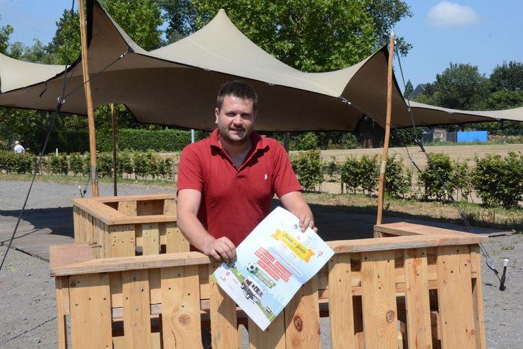 Mark De Zwart verwacht dit weekend een massa volk op de tweede editie van het foodtruckfestival.