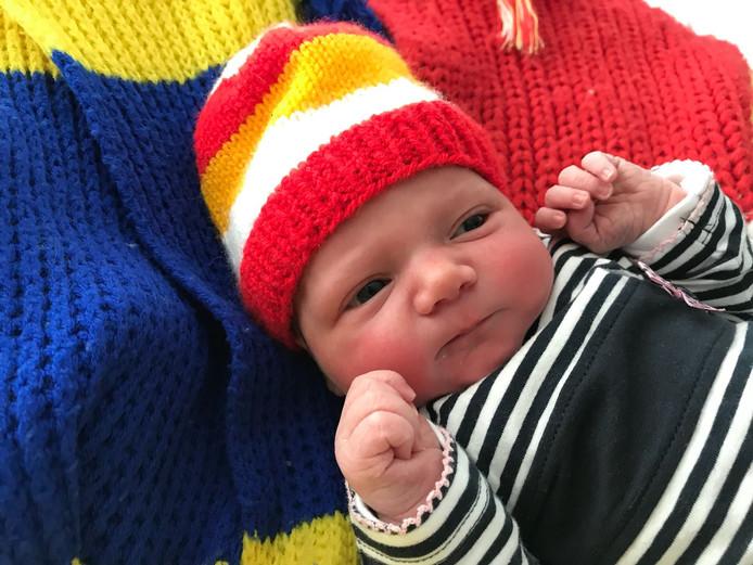 Baby Fenne is de carnavalsbaby van Dommelboarzedurp of toch een beetje van Oeteldonk?