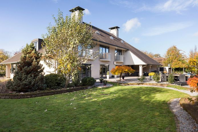 De villa aan de Markerichter in Almelo
