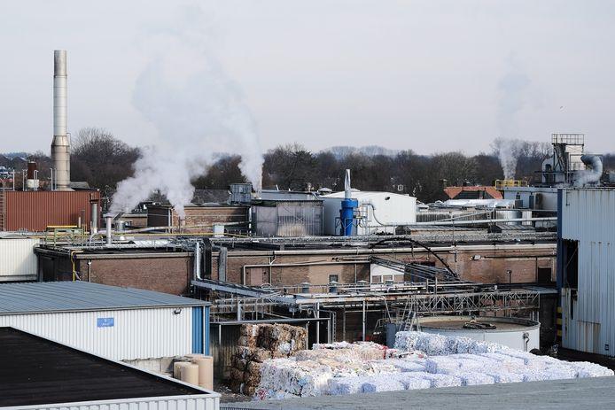De papierfabriek Doetinchem krijgt straks energie van haar eigen afvalwater.