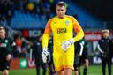 Sergio Padt (30), sinds 2014 de keeper van FC Groningen.