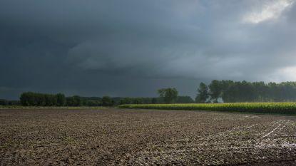 Zon is (voorlopig) het land uit: kans op buien en onweer