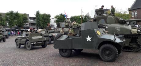 Warm welkom voor 'bevrijders' in Uden en Zeeland